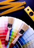 Muestra del color imagen de archivo libre de regalías