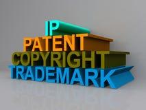 Muestra del concepto de Copyright libre illustration