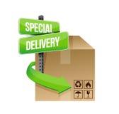Muestra del concepto de la entrega especial Imágenes de archivo libres de regalías