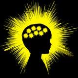 Muestra del concepto de la epilepsia Imagen de archivo libre de regalías