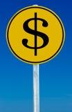 Muestra del dinero Foto de archivo libre de regalías