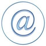Muestra del email stock de ilustración