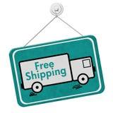 Muestra del envío gratis Foto de archivo libre de regalías