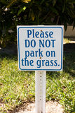 Muestra del estacionamiento Foto de archivo libre de regalías