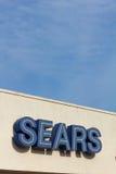 Muestra del exterior de Sears Fotografía de archivo