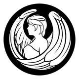 Muestra del horóscopo del zodiaco del virgo Imágenes de archivo libres de regalías