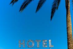 Muestra del hotel Fotografía de archivo libre de regalías