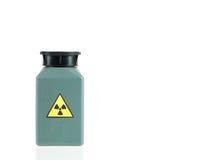 Muestra del isótopo radiactivo Fotografía de archivo