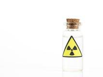 Muestra del isótopo radiactivo Imagenes de archivo
