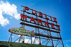 Muestra del lugar de Pike fotos de archivo libres de regalías