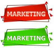 Muestra del márketing Foto de archivo libre de regalías