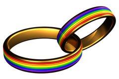 Muestra del matrimonio homosexual libre illustration