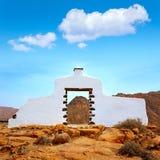 Muestra del monumento de la recepción de Fuerteventura Fotos de archivo libres de regalías