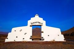Muestra del monumento de la recepción de la isla de Fuerteventura Fotografía de archivo