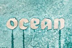 Muestra del océano Fotografía de archivo libre de regalías