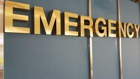 Muestra del oro de la emergencia Imagen de archivo