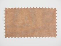 Muestra del papel de Brown Imagenes de archivo