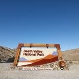 Muestra del parque nacional de Death Valley. Imagenes de archivo