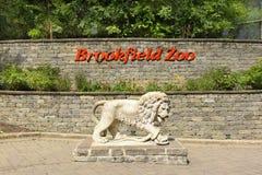 Muestra del parque zoológico de Brookfield Fotografía de archivo libre de regalías