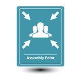 Muestra del punto de asamblea Imagen de archivo libre de regalías