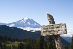 Muestra del rastro, rastro pacífico de la cresta Imagen de archivo libre de regalías