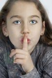 Muestra del silencio Fotografía de archivo libre de regalías