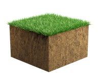 Muestra del suelo Imagen de archivo