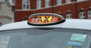 Muestra del taxi de Londres metrajes