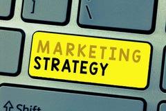 Muestra del texto que muestra estrategia de marketing Esquema conceptual de la foto en cómo presentar negocio de servicios de los fotografía de archivo libre de regalías