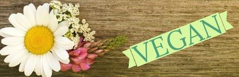 Muestra del vegano fotografía de archivo libre de regalías