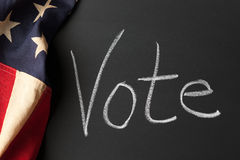 Muestra del voto Fotos de archivo libres de regalías
