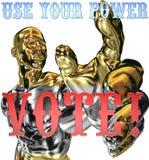 Muestra del voto de la elección presidencial 2008 de los E.E.U.U. libre illustration