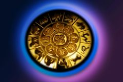 Muestra del zodiaco foto de archivo libre de regalías