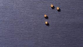 Muestra del zodiaco de las estrellas de la constelación del león stock de ilustración