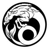 Muestra del zodiaco del horóscopo del Capricornio Fotos de archivo