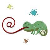 Muestra en Imagen de archivo libre de regalías