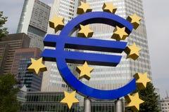 Muestra euro Imágenes de archivo libres de regalías