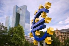Muestra euro, Francfort Fotos de archivo libres de regalías
