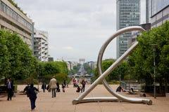 Muestra euro grande Foto de archivo libre de regalías