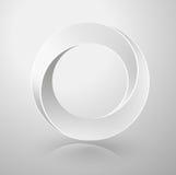 Muestra imposible del círculo Imagen de archivo