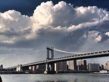 Muestra, ladrillos, cerca del puente de Brooklyn fotos de archivo