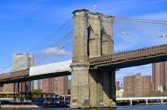 Muestra, ladrillos, cerca del puente de Brooklyn Foto de archivo libre de regalías