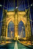 Muestra, ladrillos, cerca del puente de Brooklyn Fotos de archivo libres de regalías