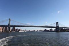 Muestra, ladrillos, cerca del puente de Brooklyn Nueva York, los E Foto de archivo