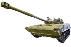 Muestra ligera experimentada 685 del tanque anfibio aislada Fotografía de archivo