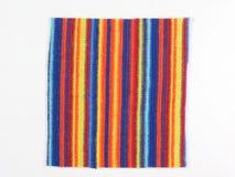 Muestra multicolora de la tela Fotografía de archivo libre de regalías