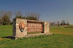 Muestra nacional del campo de batalla de Antietam Fotografía de archivo libre de regalías