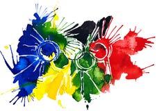 Muestra olímpica libre illustration