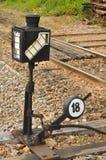 Muestra para el tren Imagen de archivo