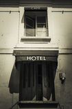 Muestra parisiense del hotel Imágenes de archivo libres de regalías